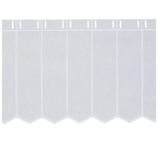 KURZGARDINE 45 cm  - Weiß, KONVENTIONELL, Textil (45cm) - Esposa