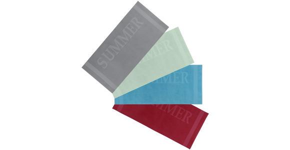 STRANDTUCH 80/180 cm Rot  - Rot, KONVENTIONELL, Textil (80/180cm) - Esposa
