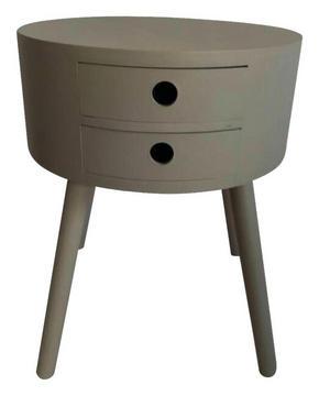 AVLASTNINGSBORD - grå, Design, trä (40/49,5cm) - Ambia Home
