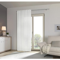 FERTIGVORHANG transparent - Creme, KONVENTIONELL, Textil (140/245cm) - Esposa