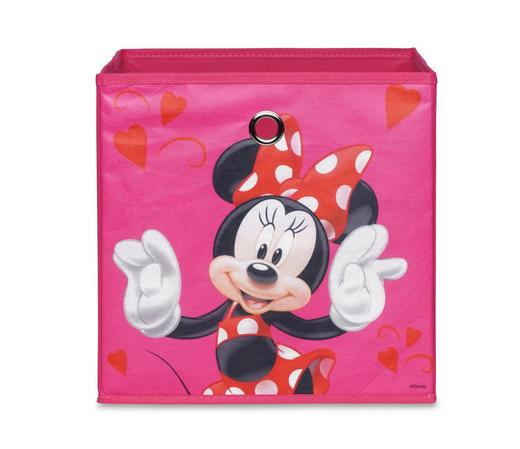 FALTBOX Pink - Pink, KONVENTIONELL, Kunststoff (32/32/32cm) - Carryhome