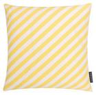 KISSENHÜLLE Gelb, Weiß 40/40 cm - Gelb/Weiß, Textil (40/40cm)
