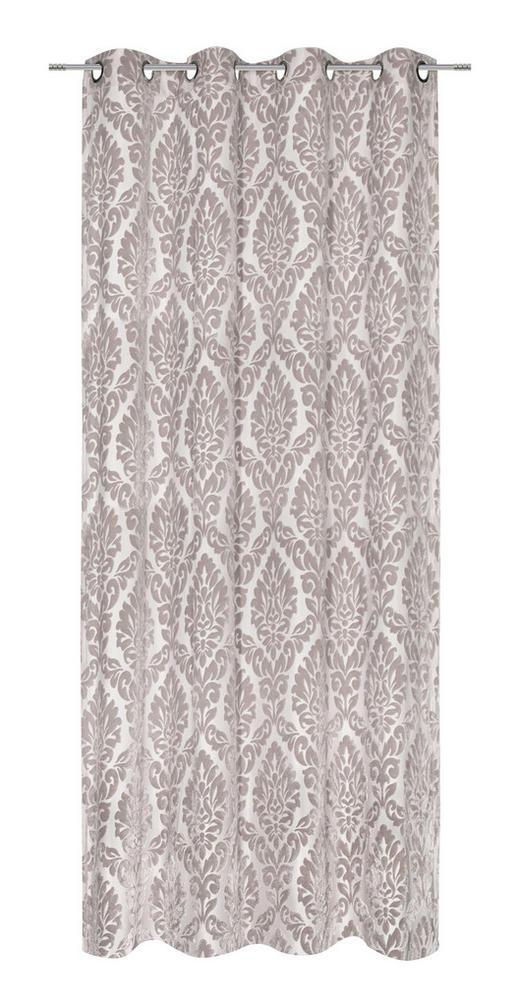 ÖSENSCHAL  blickdicht  140/245 cm - Taupe, Design, Textil (140/245cm) - Esposa