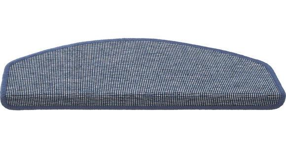 STUFENMATTE in Blau  - Blau, KONVENTIONELL, Textil (28/65cm) - Esposa