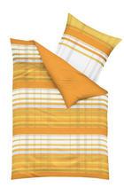 BETTWÄSCHE 140/200 cm - Orange, Design, Textil (140/200cm) - KAEPPEL