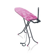 BÜGELBRETT ClassicM Basic Plus 60YE - Pink, Textil (142/40/88cm) - Leifheit