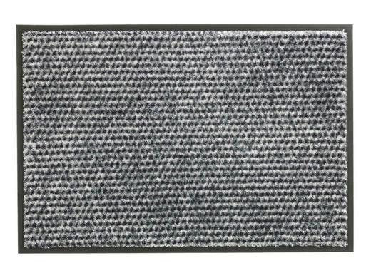 FUßMATTE 67/150 cm - Silberfarben, KONVENTIONELL, Textil (67/150cm) - Schöner Wohnen