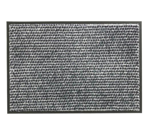 FUßMATTE 67/100 cm - Silberfarben, KONVENTIONELL, Textil (67/100cm) - Schöner Wohnen
