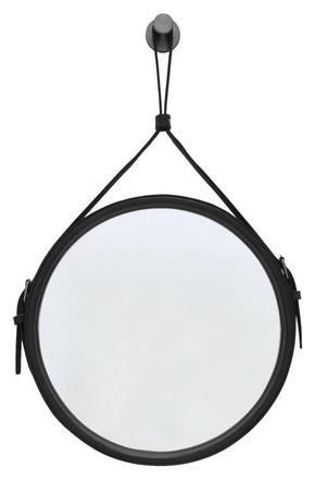VÄGGSPEGEL - svart, Klassisk, metall/glas (30cm)
