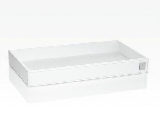 TABLETT Kunststoff - Weiß, Design, Kunststoff (28/3,5/15cm) - Joop!