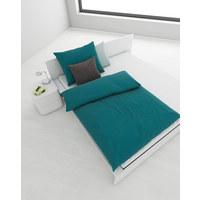 BETTWÄSCHE 140/200 cm - Blau, Basics, Textil (140/200cm) - Boxxx