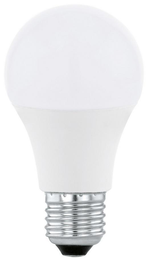 LED-Leuchtmittel E27 - Weiß, Basics, Glas (12cm)