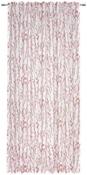 GARDINLÄNGD - rosa, Klassisk, textil (140/245cm) - Esposa