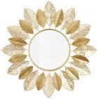 WANDSPIEGEL Goldfarben - Goldfarben, Basics, Glas/Holz (91cm) - AMBIA HOME
