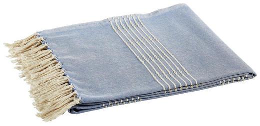PLAID 150/180 cm Hellblau - Hellblau, Basics, Textil (150/180cm)
