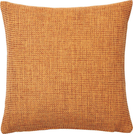 KISSENHÜLLE Orange 60/60 cm - Orange, Basics, Textil (60/60cm)