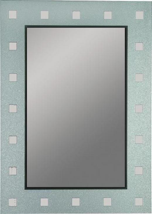 SPIEGEL - Anthrazit/Silberfarben, Design (50/70/0,3cm) - BOXXX