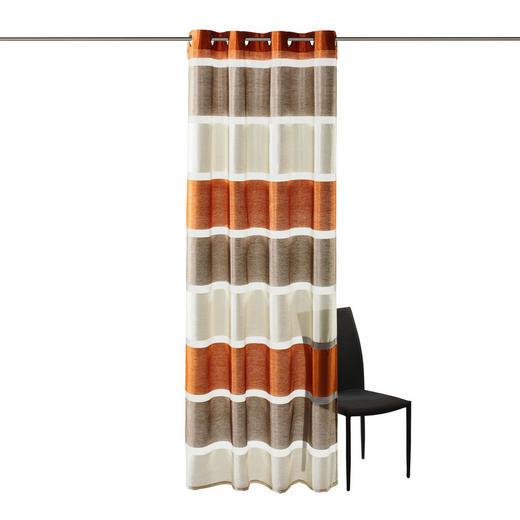 ÖSENSCHAL   140/245 cm - Orange, Basics, Textil (140/245cm) - ESPOSA