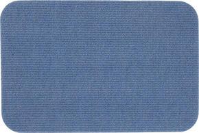 DÖRRMATTA - blå, Klassisk, textil/plast (40/60cm) - Boxxx