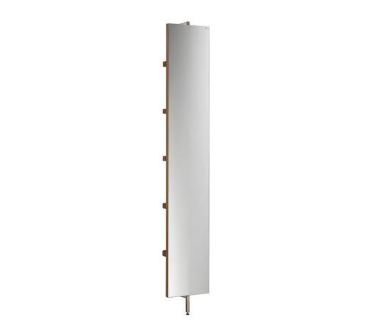 WANDSPIEGEL 31,6/195/21 cm - Eichefarben, Design, Glas/Holz (31,6/195/21cm) - Voglauer