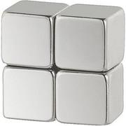 MAGNETSET - Nickelfarben, Basics, Metall (0,8/2/0.5cm) - Eurographics