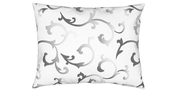 Bettwäsche Sansa 140/200cm Weiß/Schwarz - Schwarz/Weiß, ROMANTIK / LANDHAUS, Textil - James Wood