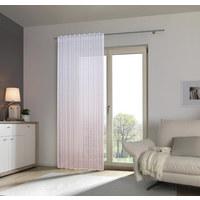 Fertigvorhang transparent - Rosa, Konventionell, Textil (140/245cm) - Esposa