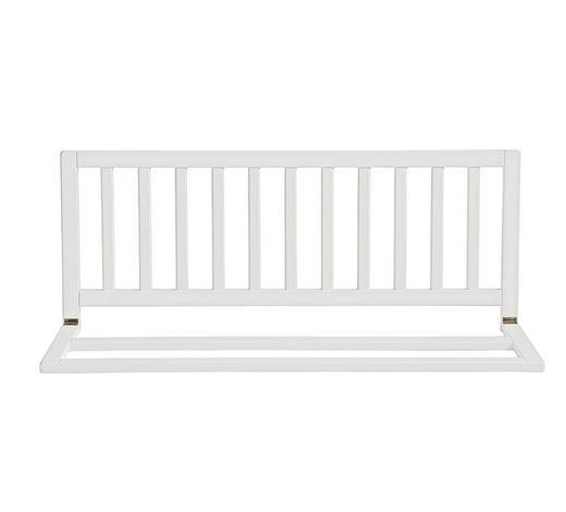 BETTSCHUTZGITTER 102/42 cm - Weiß, Basics, Holz (102/42cm) - My Baby Lou