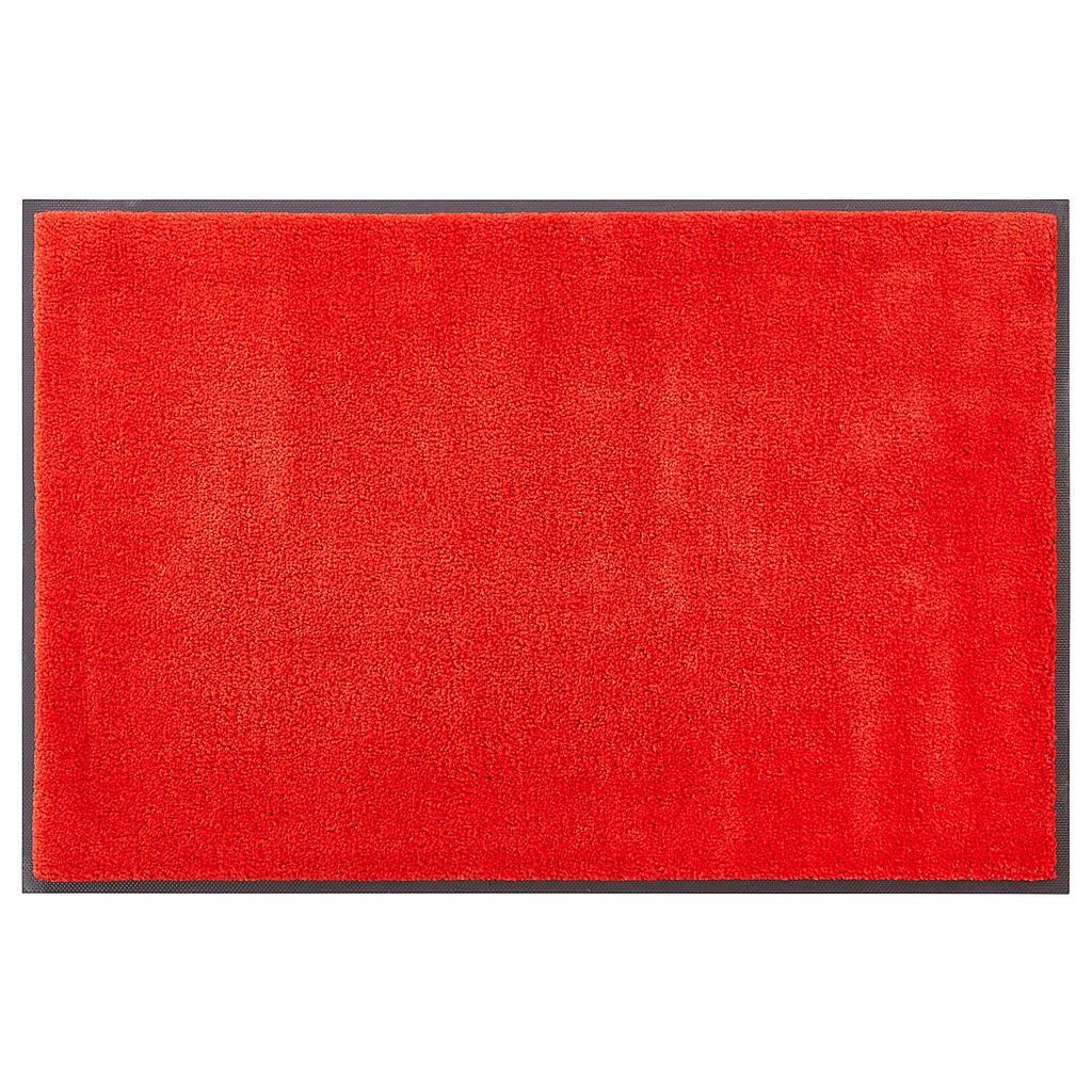 Esposa Fußmatte 50/75 cm uni rot