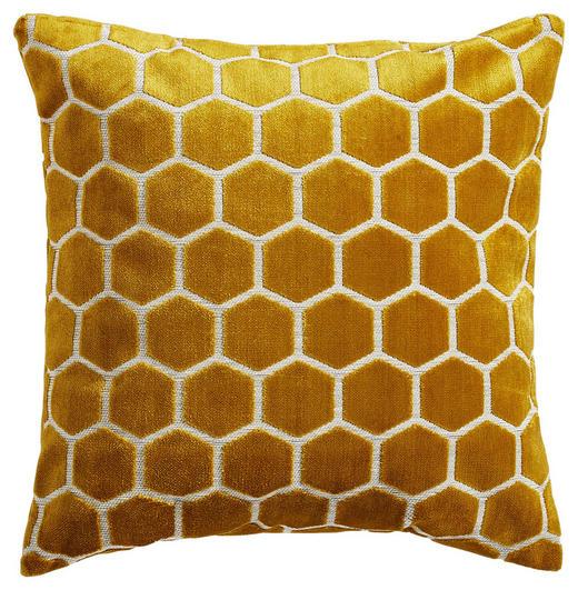 ZIERKISSEN - Gelb, Design, Textil (45/45cm)