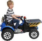 Kinderelektrotraktor - Blau, Basics, Kunststoff (117/61/64cm)