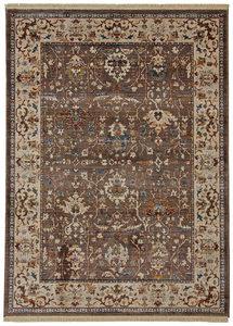 RETRO TEPIH - Braon/Plava, Konvencionalno, Tekstil (200/285cm) - Esposa