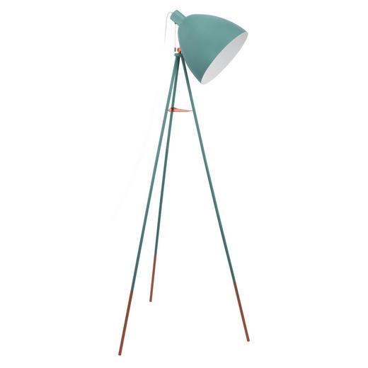 STEHLEUCHTE - Mintgrün, Trend, Metall (60/60/135,5cm)