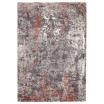 VINTAGE-TEPPICH Juwel Liray  - Hellrot/Grau, Design, Textil (80/150cm) - Novel