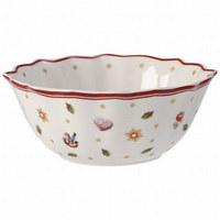 SKODELICA ZA KOSMIČE TOY`S - rdeča/bela, Moderno, keramika (15cm) - Villeroy & Boch