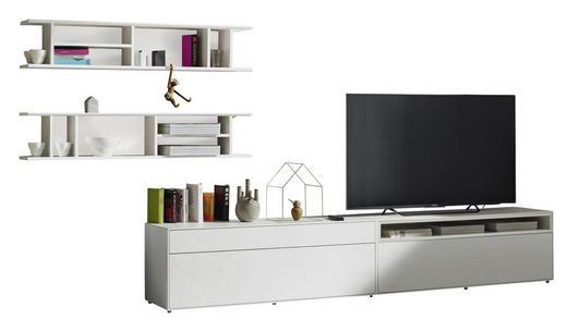 WOHNWAND Weiß - Schwarz/Weiß, Design (334/162/44,8cm) - Hülsta - Now
