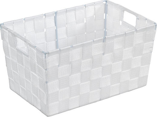 KORB - Weiß, Basics, Kunststoff (30/20/15cm)