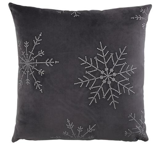 ZIERKISSEN 40/40 cm - Grau, KONVENTIONELL, Textil (40/40cm) - X-Mas