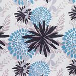 VORHANGSTOFF per lfm blickdicht  - Blau/Schwarz, KONVENTIONELL, Textil (150cm) - Esposa