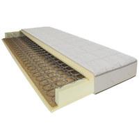MATRATZE - Weiß, Basics, Textil (90/23/200cm) - Joka