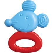 Greifling Maus - Blau/Rot, Basics, Kunststoff (9/6cm) - Haba