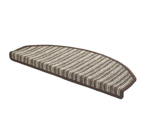 Stufenmatte in Braun, Beige - Beige/Braun, KONVENTIONELL, Textil (65/28cm) - Esposa