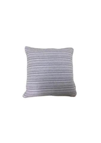 JASTUČNICA - siva, Konvencionalno, tekstil (45/45cm)