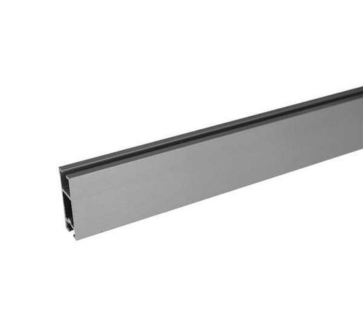 FLACHPROFIL 260 cm  - Edelstahlfarben, Basics, Metall (260cm) - Homeware