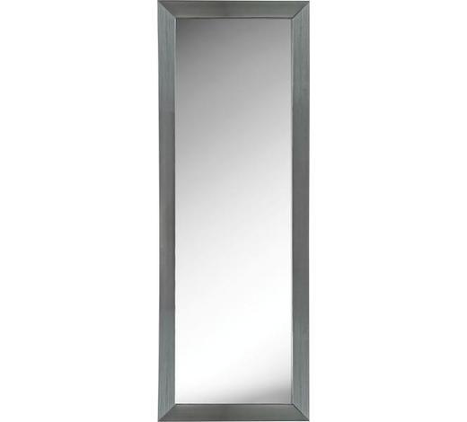 ZRCADLO, obdélníkové - barvy stříbra, Design, dřevo/sklo (66/186/2cm) - Boxxx