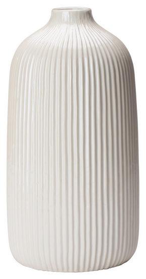 VAS - vit, Design, keramik (13,3/25cm) - Ambia Home