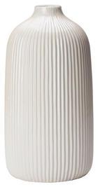VASE 25 cm - Weiß, Design, Keramik (13,3/25cm) - Ambia Home