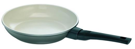 BRATPFANNE 24 cm Keramikbeschichtung - Anthrazit/Beige, Kunststoff/Metall (24cm) - ROHE