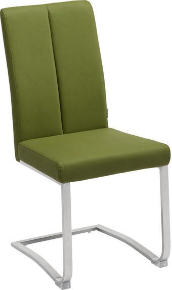 SVIKTSTOL - grön/rostfritt stål-färgad, Design, metall/textil (43,5/95/62cm) - XORA