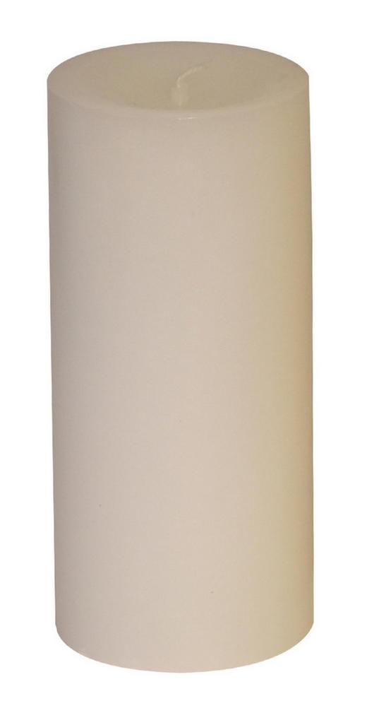 STUMPENKERZE 6,8/15 cm - Weiß, Basics (6,8/15cm) - Steinhart